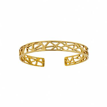 Illusion Mini Cuff Bracelet